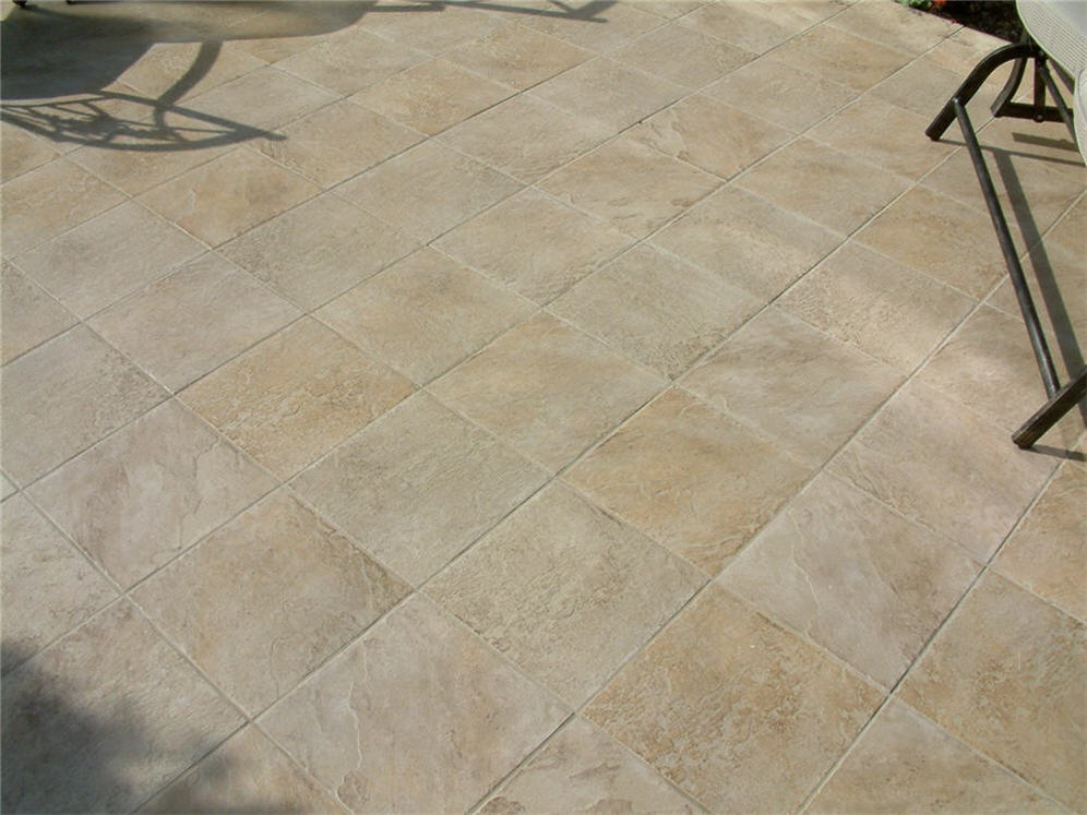 Matched Patio Pavers